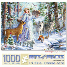 Winter Spirit 1000 Piece Jigsaw Puzzle