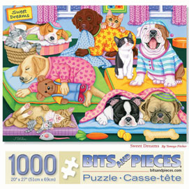 Sweet Dreams 1000 Piece Jigsaw Puzzle