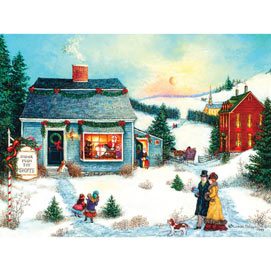 Sugar Plum Toy Shoppe 500 Piece Jigsaw Puzzle