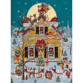 A Visit from St. Nick 1000 Piece Jigsaw Puzzle