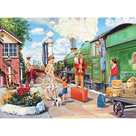The Train Driver 500 Piece Jigsaw Puzzle