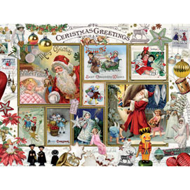 Christmas Greeting 500 Piece Jigsaw Puzzle