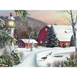In The Still Light Of Dawn 300 Large Piece Jigsaw Puzzle