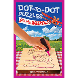 Dot To Dot Puzzle Book- For The Weekend