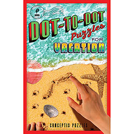Dot To Dot Puzzle Book- For Vacation