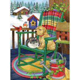 A Cozy Porch 1000 Piece Jigsaw Puzzle