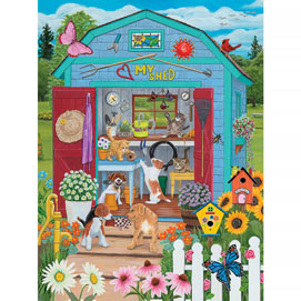The Garden Shed 300 Large Piece Jigsaw Puzzle