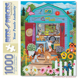 The Garden Shed 1000 Piece Jigsaw Puzzle