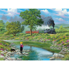Around The Bend 500 Piece Jigsaw Puzzle