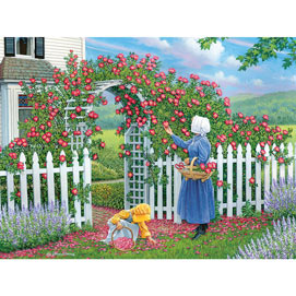 The Rose Arbor 500 Piece Jigsaw Puzzle