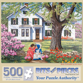 Best Friends 500 Piece Jigsaw Puzzle