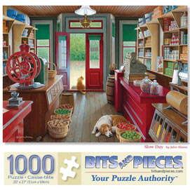 Slow Day 1000 Piece Jigsaw Puzzle