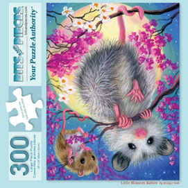 Little Blossom Babies 300 Large Piece Jigsaw Puzzle