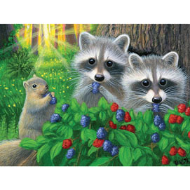 Little Berry Babies 300 Large Piece Jigsaw Puzzle