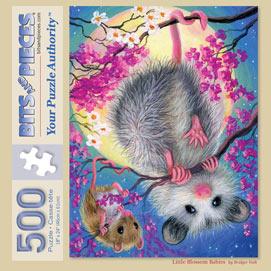 Little Blossom Babies 500 Piece Jigsaw Puzzle
