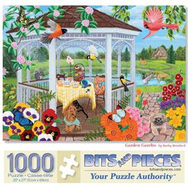 Garden Gazebo 1000 Piece Jigsaw Puzzle
