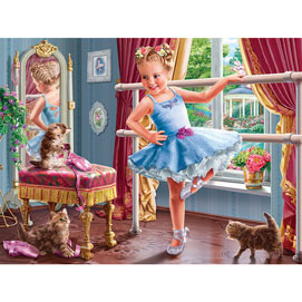Little Ballerina 300 Large Piece Jigsaw Puzzle