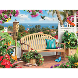 Ocean View 500 Piece Jigsaw Puzzle