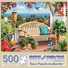 Ocean View 500 Piece Jigsaw Puzzle