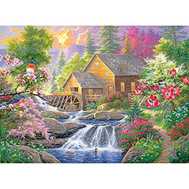 Summertime Mill 1500 Piece Giant Jigsaw Puzzle