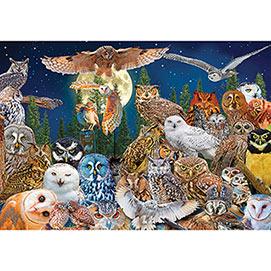 Night Owls 1500 Piece Giant Jigsaw Puzzle