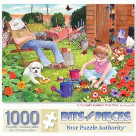 Grandad's Garden Mud Pies 1000 Piece Jigsaw Puzzle