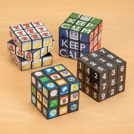 Set of 4: Brainbuster Cube