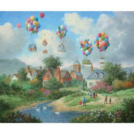 Colorful Flight 500 Piece Jigsaw Puzzle