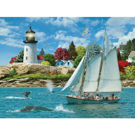 Sail Into Serenity 300 Large Piece Jigsaw Puzzle