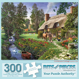 Cricketers Cottage 300 Large Piece Jigsaw Puzzle
