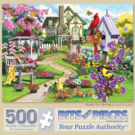 Ready For Spring 500 Piece Jigsaw Puzzle
