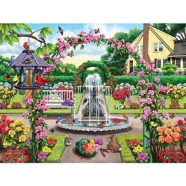 Enter The Rose Garden 500 Piece Jigsaw Puzzle