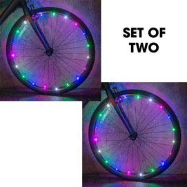 Set of 2: Bicycle Wheel Light Kit