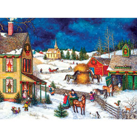 Home Again for Christmas 500 Piece Jigsaw Puzzle