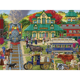 Windber Station 300 Large Piece Jigsaw Puzzle