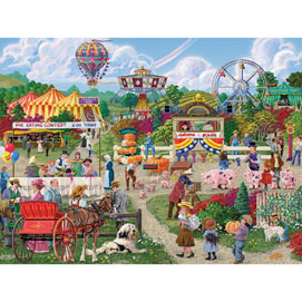 The Fairgoers 300 Large Piece Jigsaw Puzzle