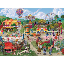 The Fairgoers 1000 Piece Jigsaw Puzzle
