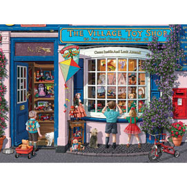 The Village Toy Shop 1000 Piece Jigsaw Puzzle