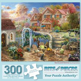 Backyard Retreat 300 Large Piece Jigsaw Puzzle