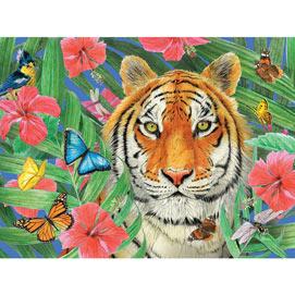 Tiger Blossom 500 Piece Jigsaw Puzzle