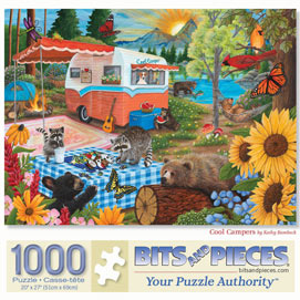 Cool Campers 1000 Piece Jigsaw Puzzle