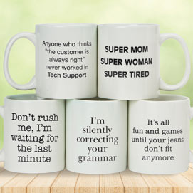 Super Mom Funny Jumbo Mug