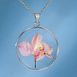 Birth Flower Necklace - August (Floxglove)