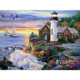 Perfect Dawn 1000 Piece Giant Jigsaw Puzzle