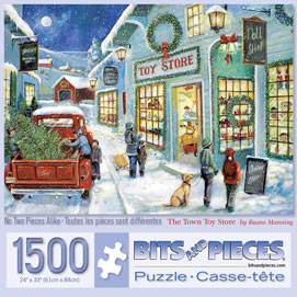The Town Toy Store 1500 Piece Jigsaw Puzzle