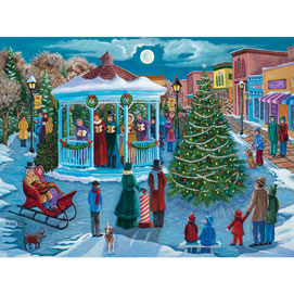 Lighting The Tree 300 Large Piece Jigsaw Puzzle