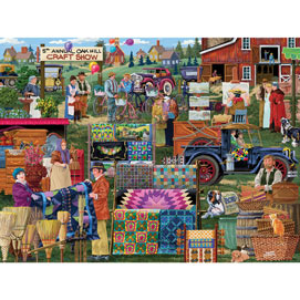 Oak Hill Craft Show 1000 Piece Jigsaw Puzzle
