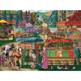 Angelo's Farmers Market 1000 Piece Jigsaw Puzzle