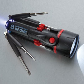 Multibit 8-in-1 Screwdriver