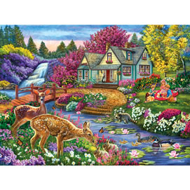 Forest Feast 1000 Piece Jigsaw Puzzle